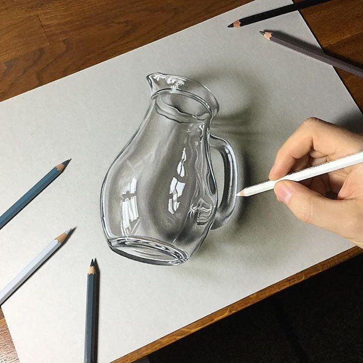 Realism Double Tap Artist Marcellobarenghi By Sketch Daily Art