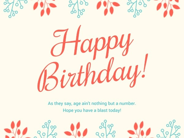 Want To Make An Online Happy Birthday Wishes Card Design Templates If You Want To Get This Birthday Card Template Birthday Wishes Cards Happy Birthday Cards