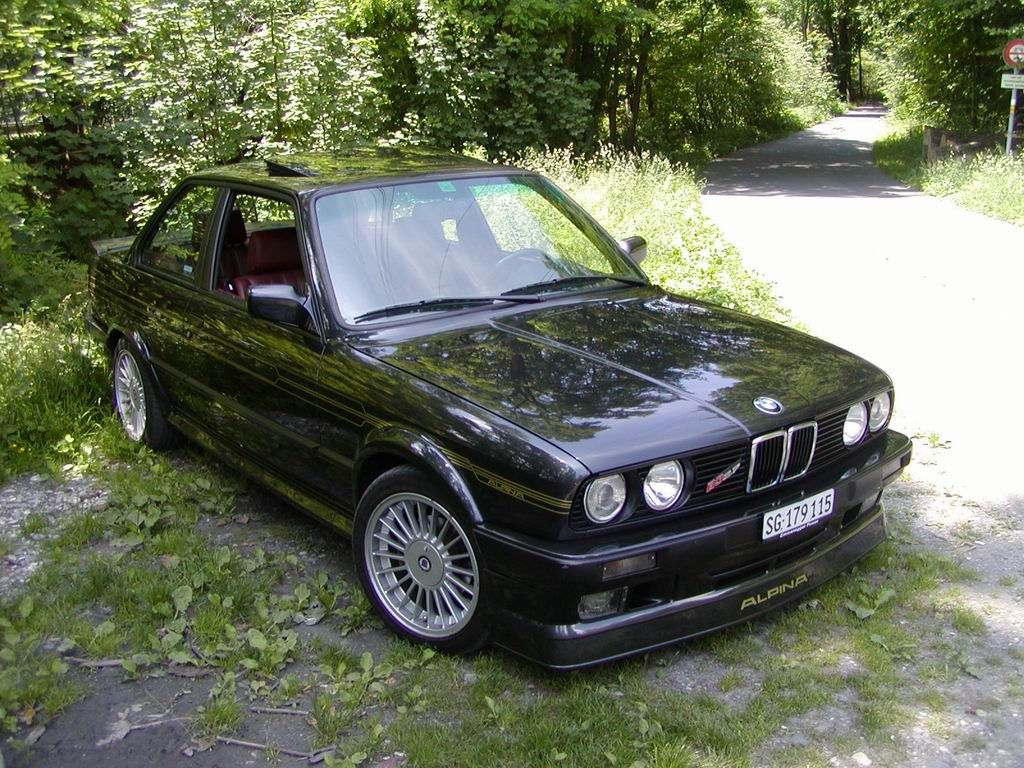 Very Rare Alpina B3 2 7 Awd 56k Warning With Images Bmw E30