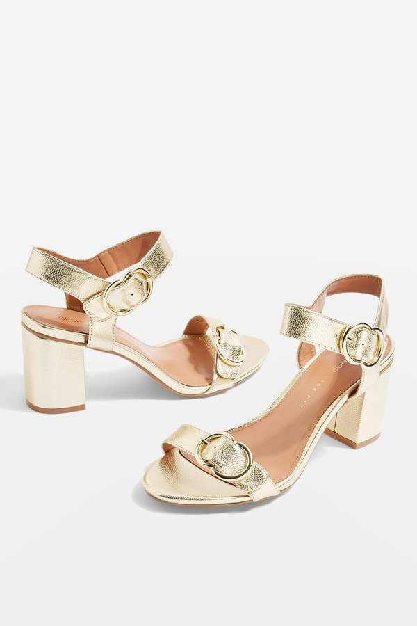 158fa4712ad Topshop WIDE FIT SAMBA Two Part Sandals