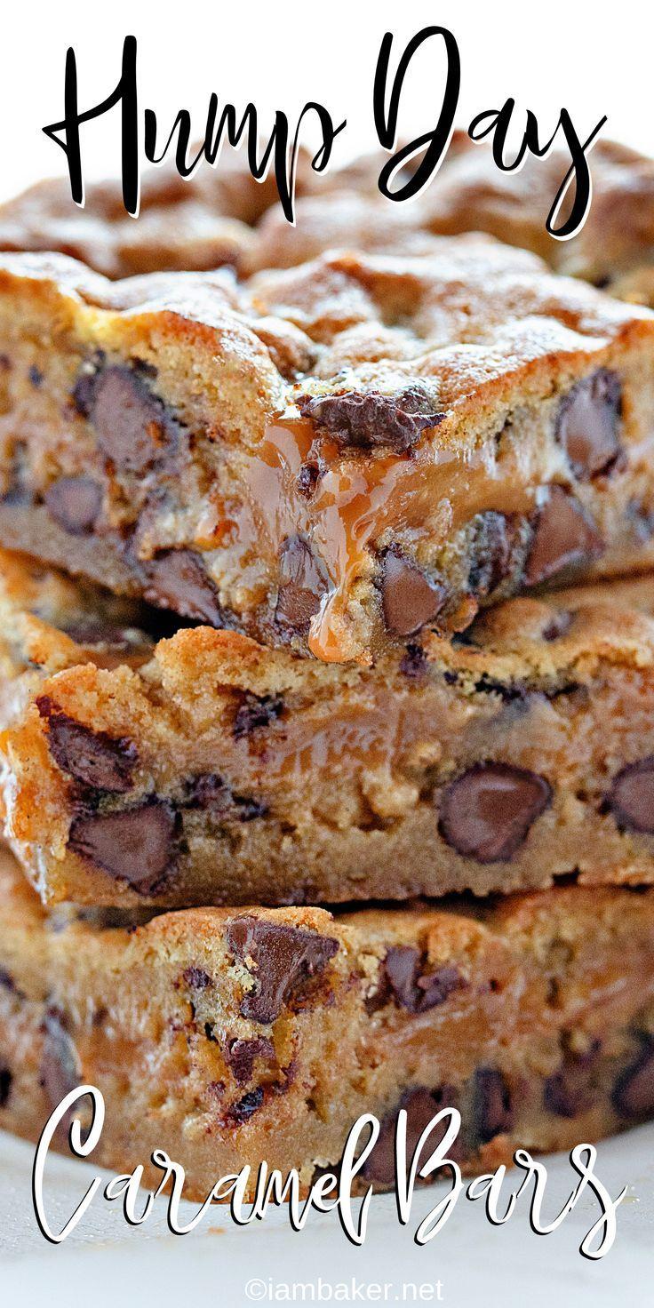 Chocolate Chip Caramel Bars {VIDEO} | i am baker