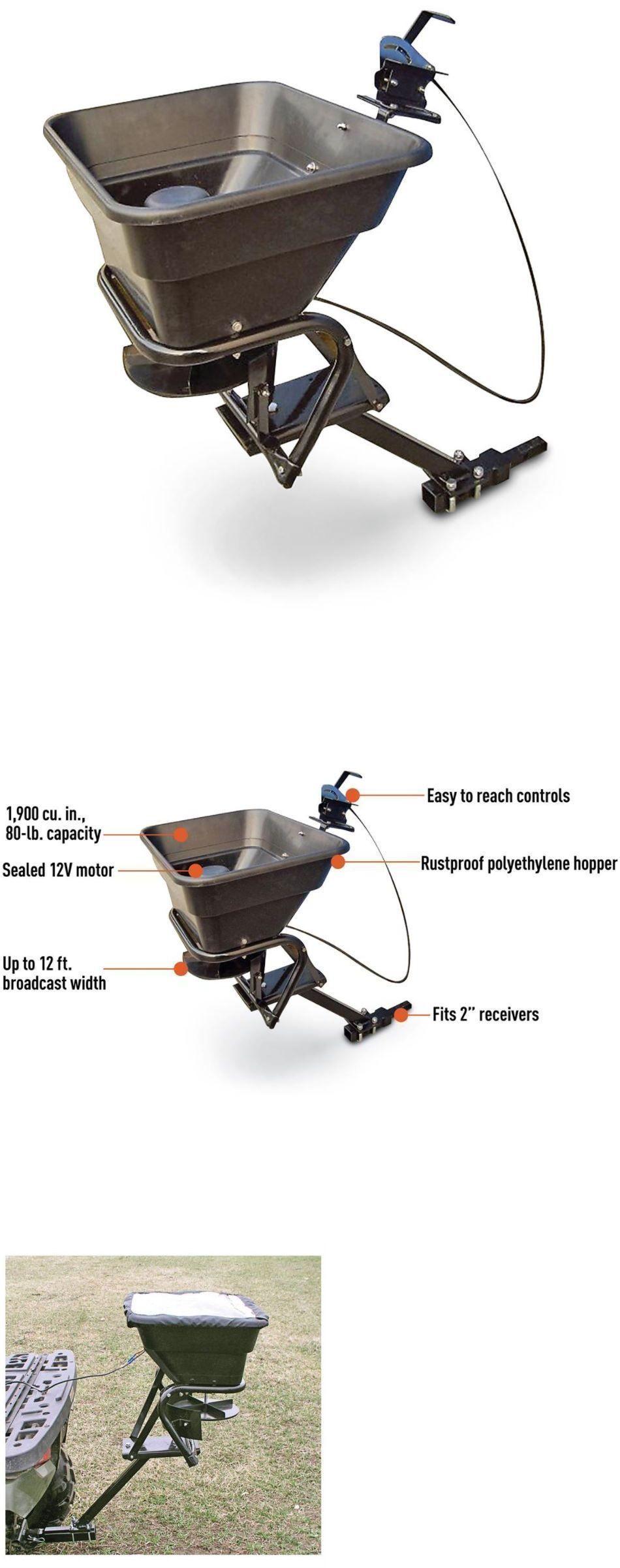 Details About 80 Lbs Utv Atv Mount Motor Fertilizer Sand