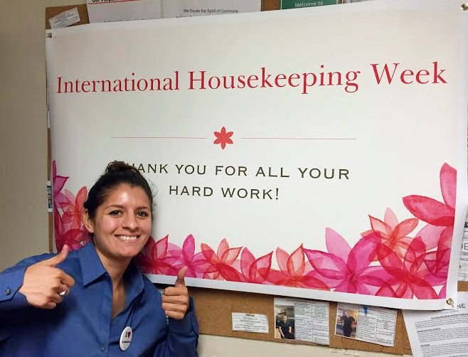 We love our housekeepers at Hotel Avante!