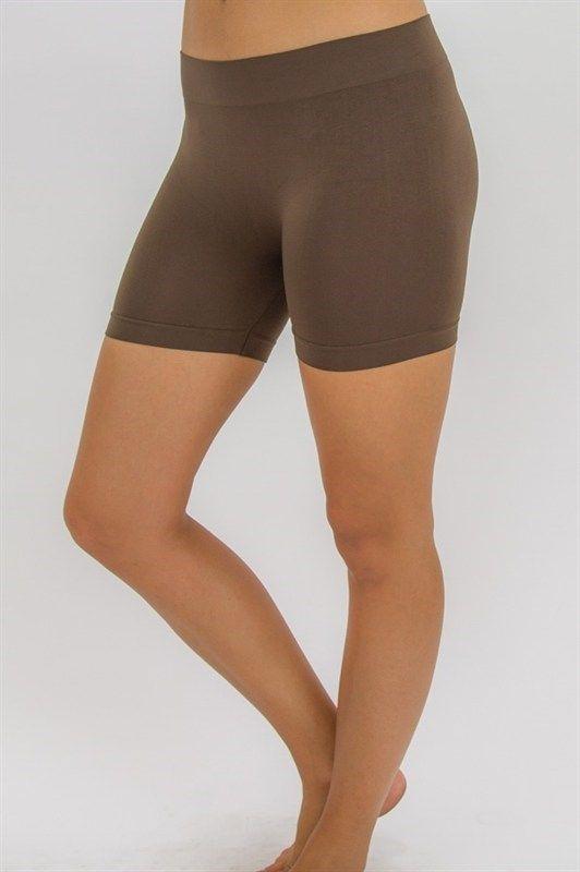 Seamless Slip Shorts Wear Under Dresses Skirts Shorts For Under Dresses Shorts Under Dress Under Dress