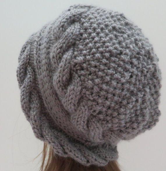 Hat Pattern, Knitting Pattern, PDF 155 Knitting Hat Pattern ...