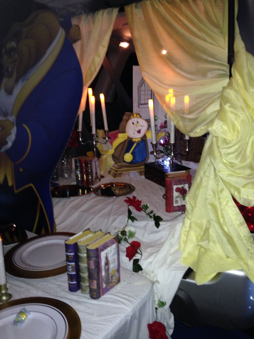 Trunk Or Treat Beauty And The Beast Theme Halloween