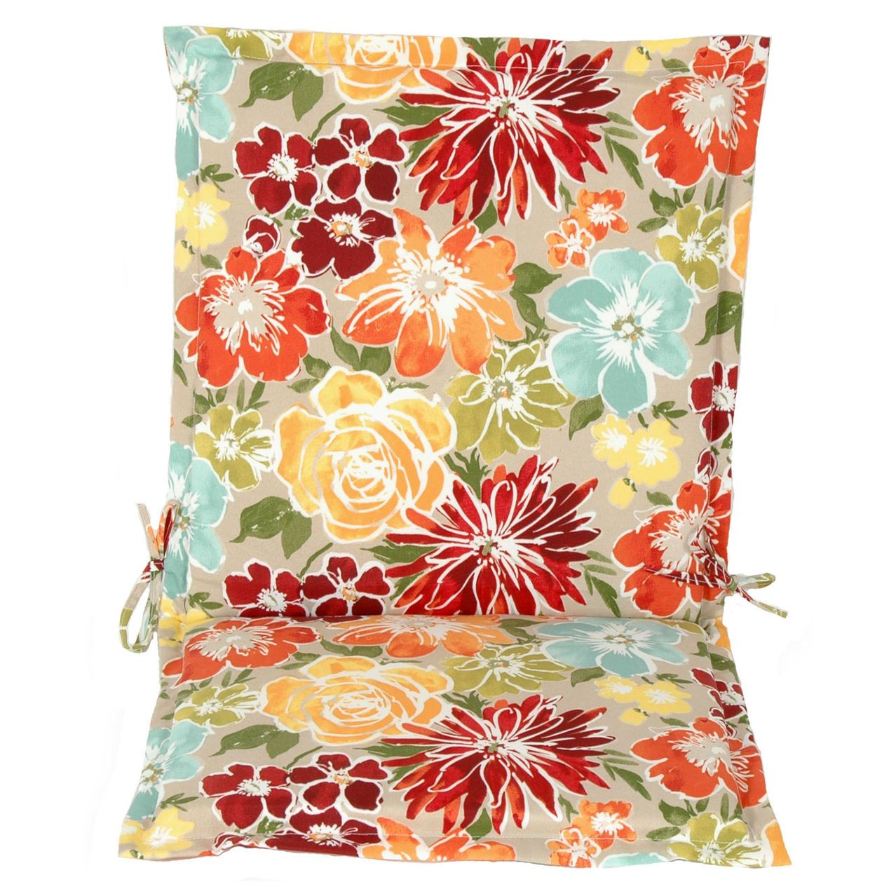 Blossom Sugarplum Flange Hinged Seat Pad Cushion At Home House