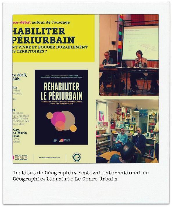 """""""Réhabiliter le périurbain"""" en tournée ! Forum Vies Mobiles, institut de recherche sur les mobilités de la SNCF. RP : Manifeste"""