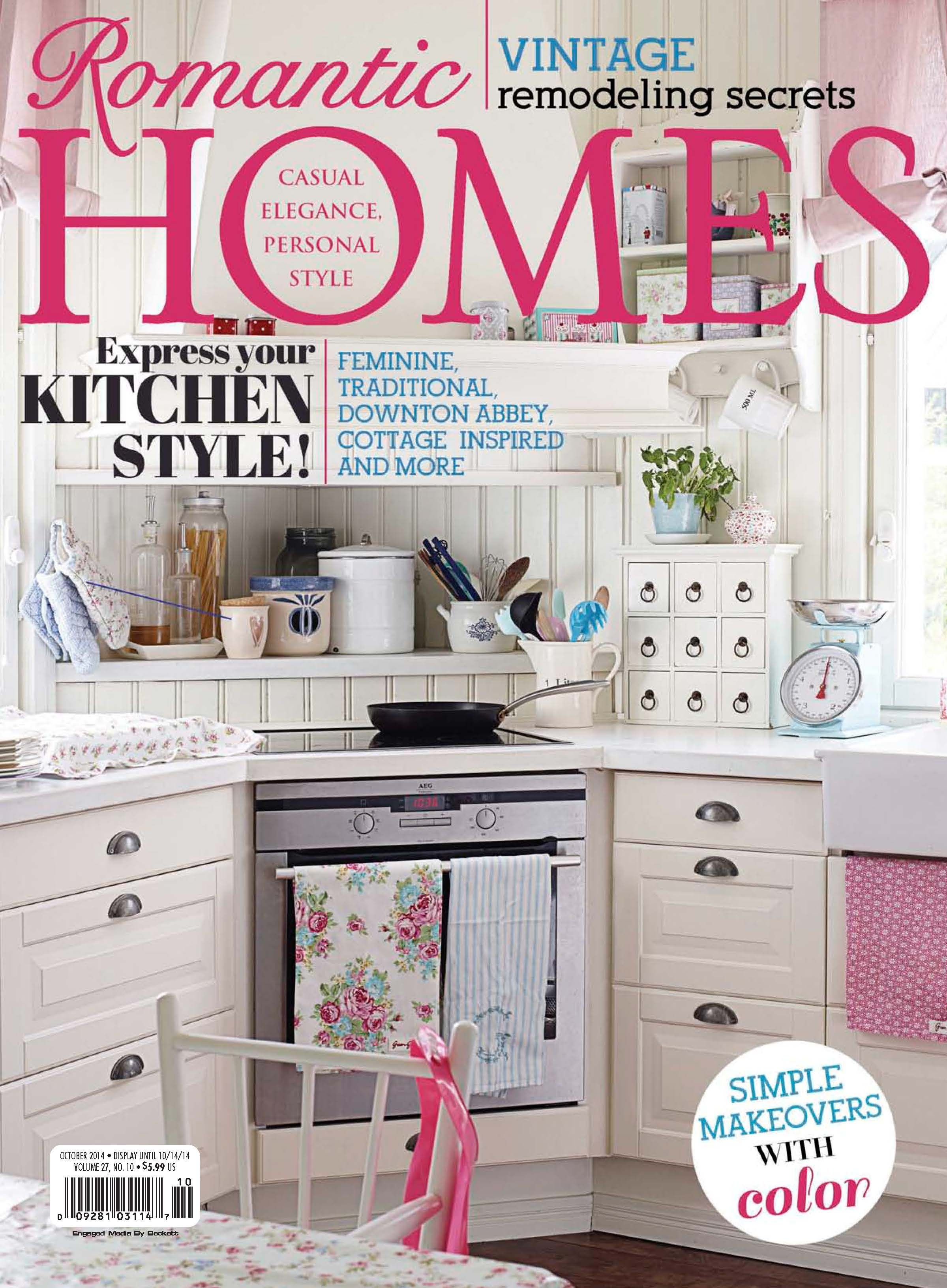 Romantic homes october edition read the digital edition by
