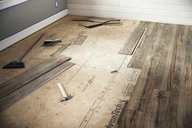 Wood Flooring Installing Laminate
