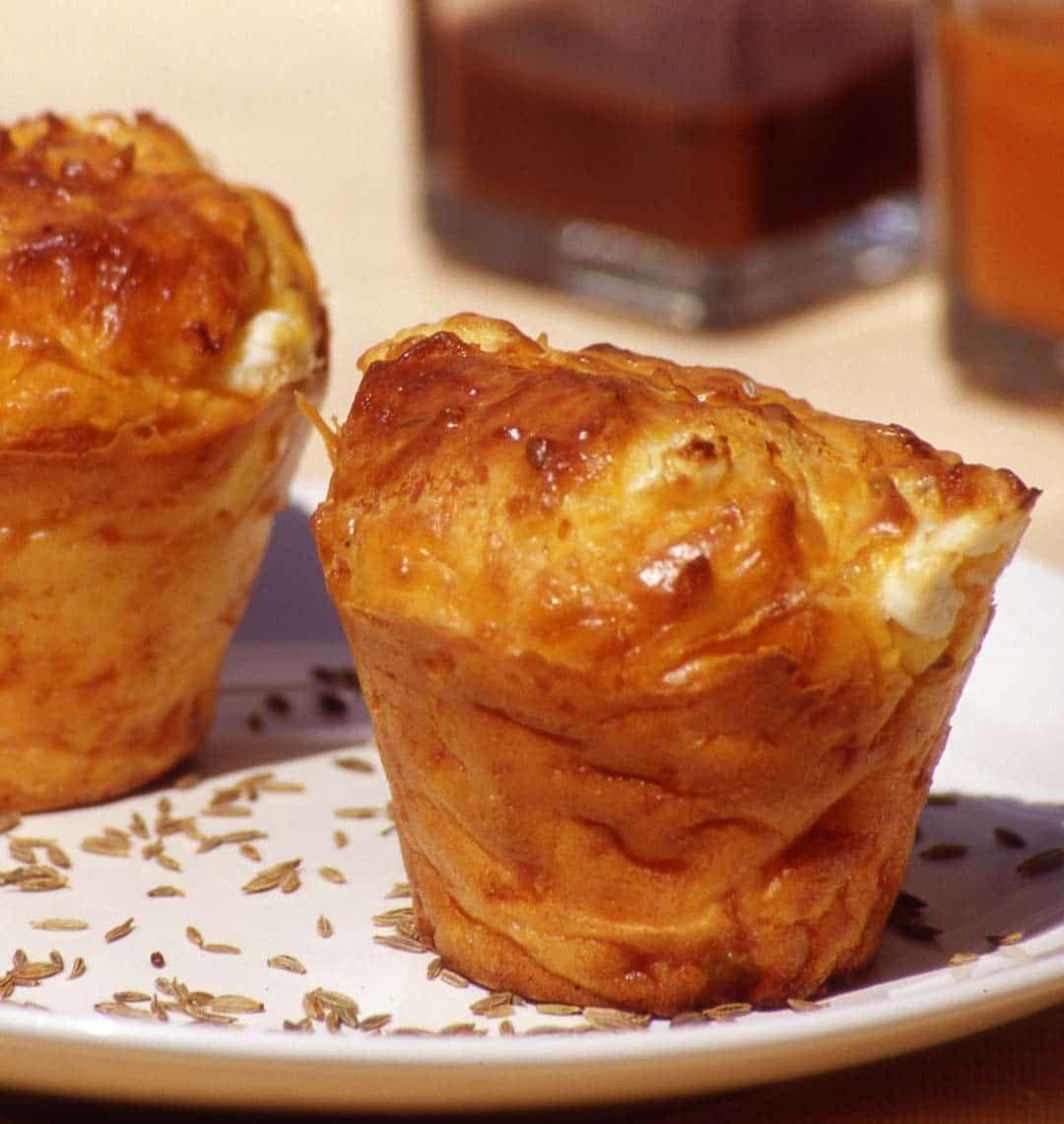 Muffins aux carottes et au fromage de chèvre - Recettes de cuisine Ôdélices