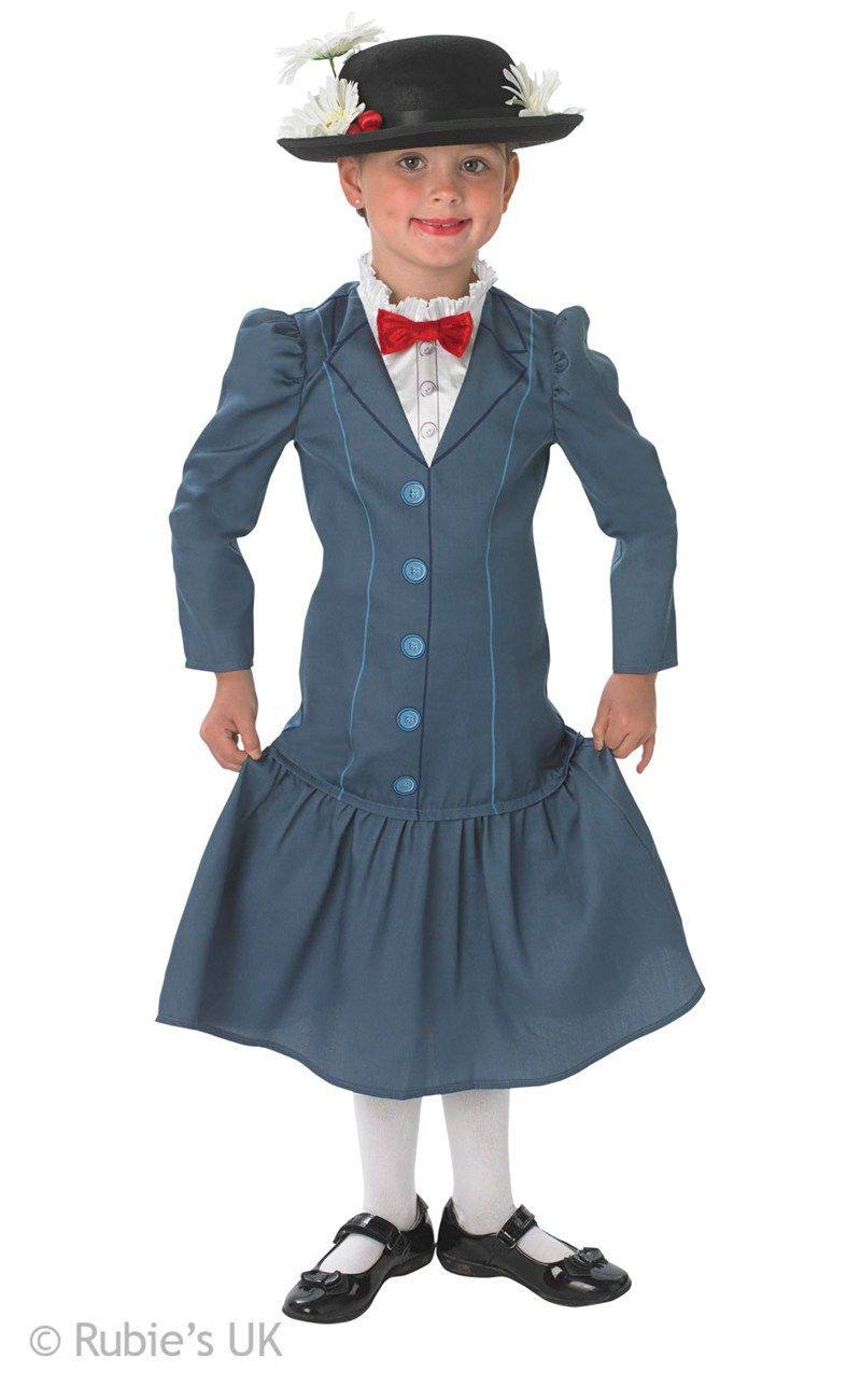 Mary Poppins Costume Kids Medium by Rubies * Details can be found by clicking on the image.  sc 1 st  Pinterest & Kids Mary Poppins Costume | Shrek costume ideas | Pinterest | Mary ...