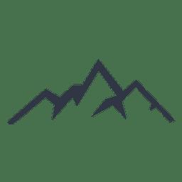 Mountain Climbing Silhouette Icon Download Page Mountain Tattoo Simple Hiking Tattoo Mountain Illustration