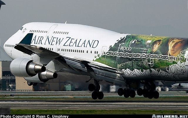 Air New Zealand Lord Of The Ringsmocht Je Naar New Zealand Gaan