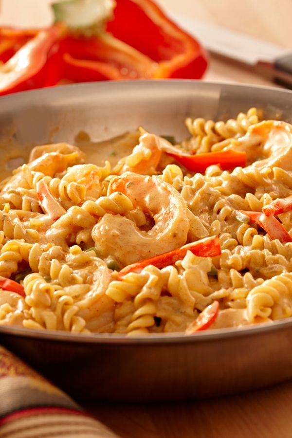 Creamy Seafood Jambalaya Pasta Recipe Recipes To Cook