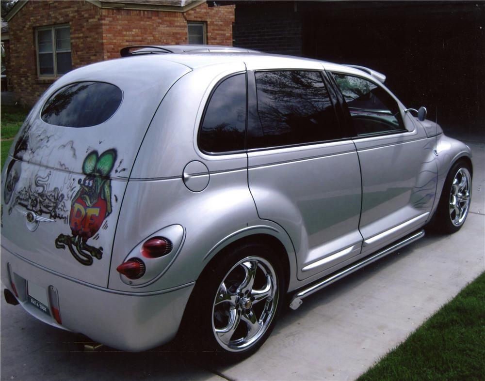 2001 chrysler pt cruiser custom 4 door hardtop barrett. Black Bedroom Furniture Sets. Home Design Ideas