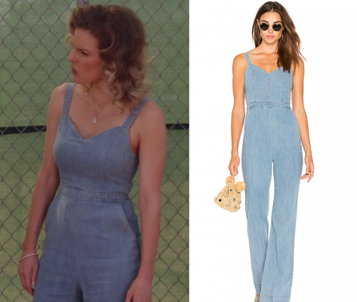 d3d98b262210d Blue Denim · Alice Olivia · Jumpsuits · Honey · Chelsey Crisp