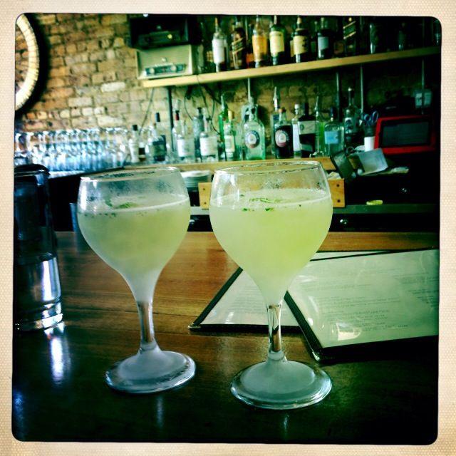 Great cocktails at Marietta's in Brooklyn!