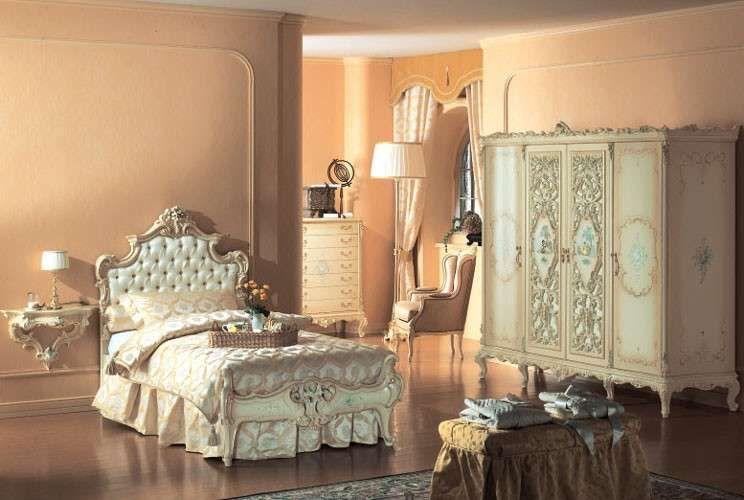 Camera da letto in stile veneziano | Porte | Pinterest | Veneziano e ...