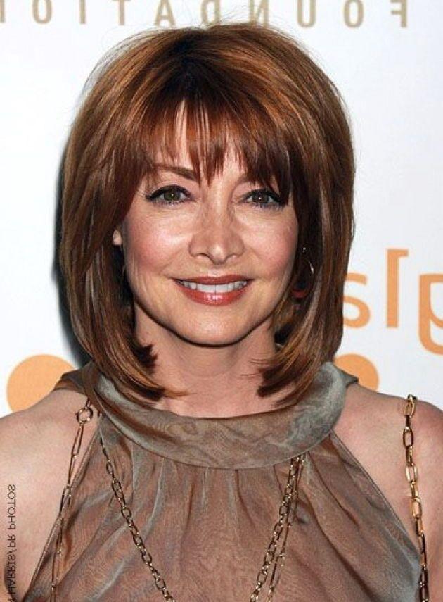 The Hairstyles of Medium Length Hairstyles for Women Over 40 ...   Hair lengths, Medium hair ...