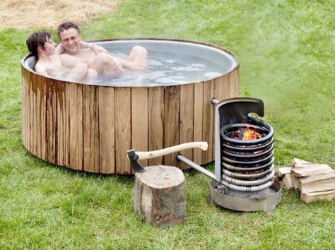 Wood Fired Hot Tubs In 32 Styles From $75 And Up   Living Off The Grid