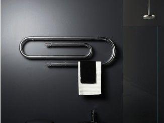 Marvelous Hot Water Electric Steel Towel Warmer GRAFFE   SCIROCCO H
