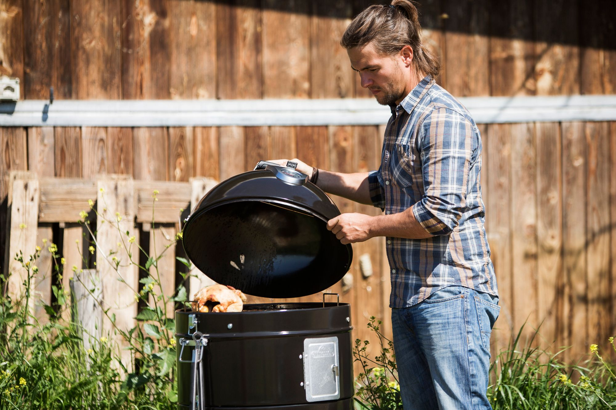 No grilling enthusiast's garden is complete without the