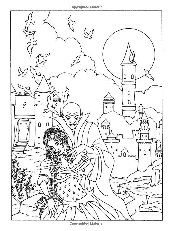 Monster Gallery Coloring Book