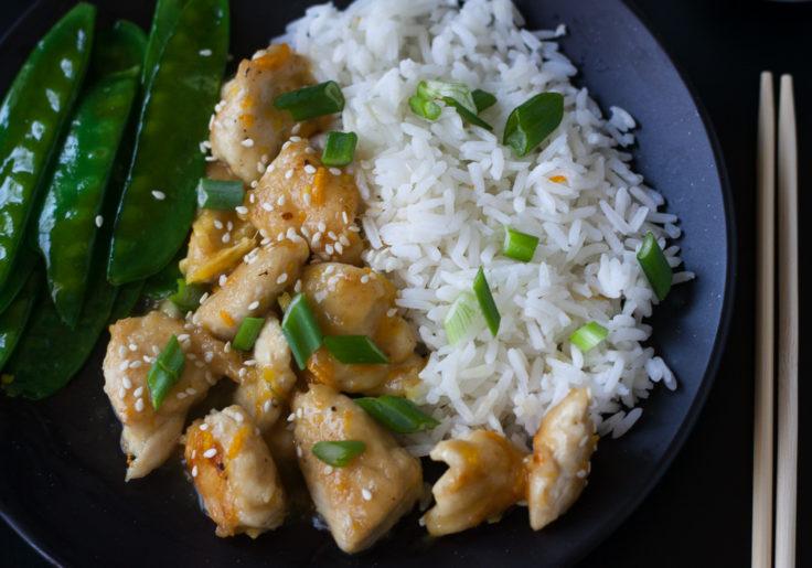 Chinese Orange Chicken (Paleo, Whole30) #chineseorangechicken