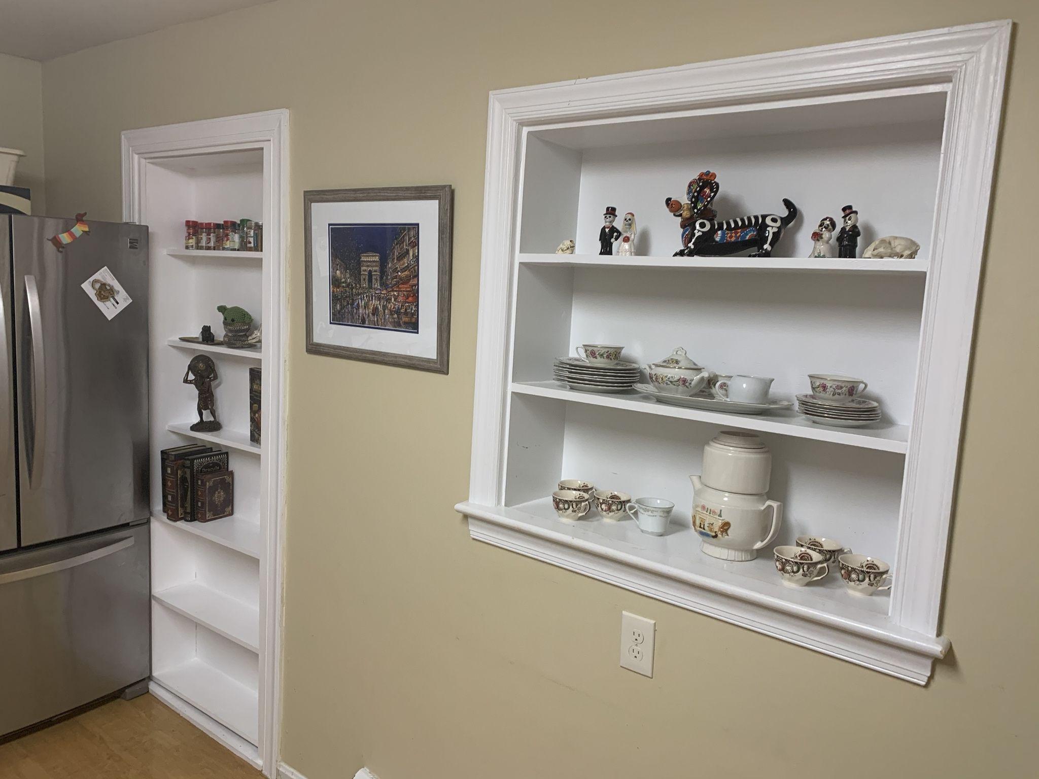 Surprising my husband with a hidden bookshelf door