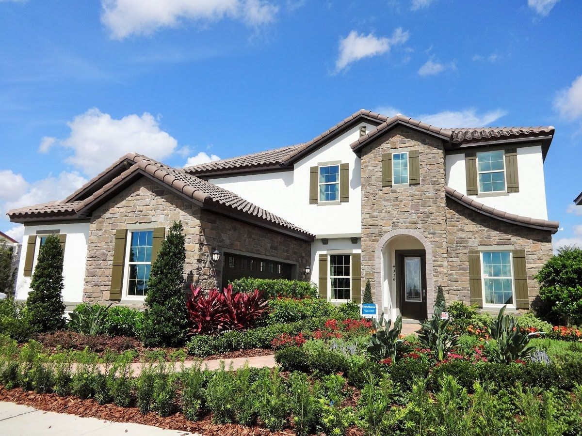 Watermark By Meritage Homes   Hawthorne Model   Winter Garden New Homes