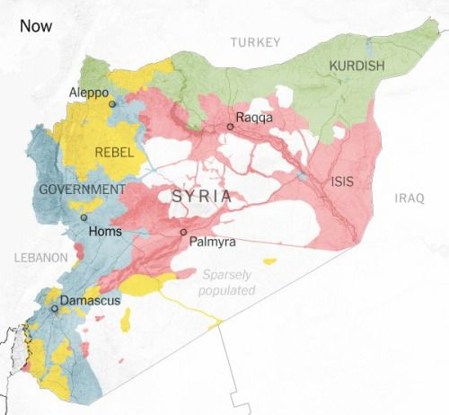 Twitter Maps Track Groups in Control of Syria and Iraq Syria and - best of world map hungary syria