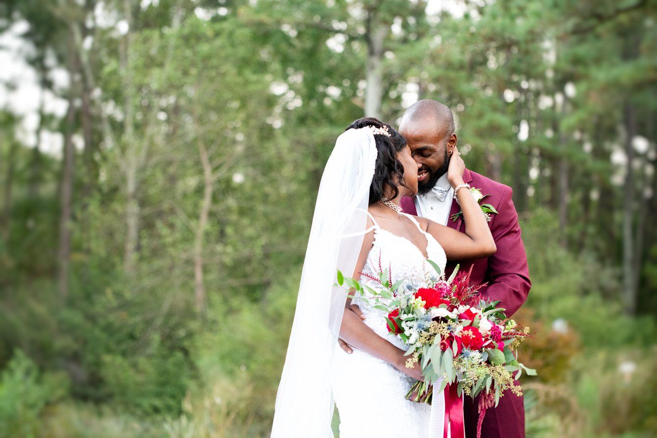 Wedding Photos at the Cape Fear Botancial Wedding