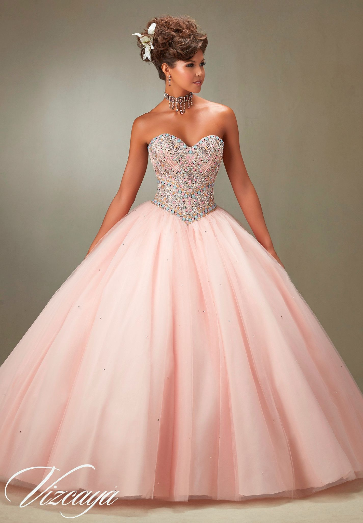 Mori Lee Quinceanera Dress 89076 | Vestiditos, Quinceañera y Años