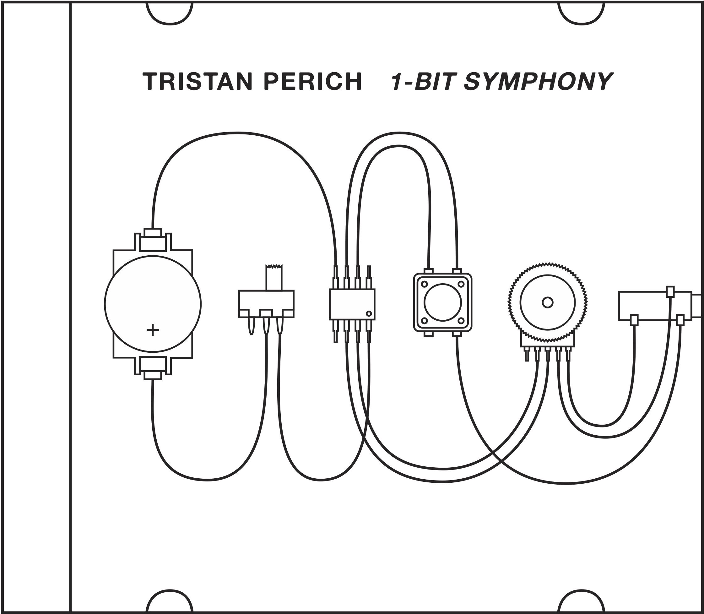 Tristan Perich 1 Bit Symphony Electronic Music Simple Electronic Circuits Music Covers