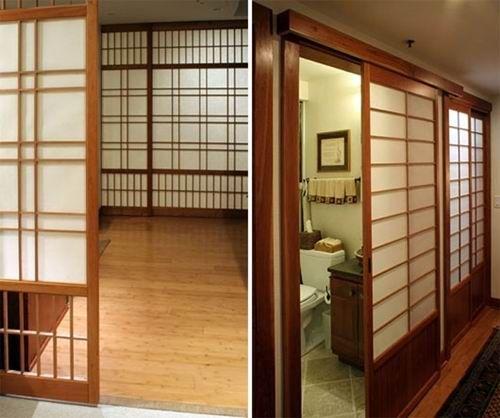 model pintu ala jepang Menuiserie japonaise Cloison