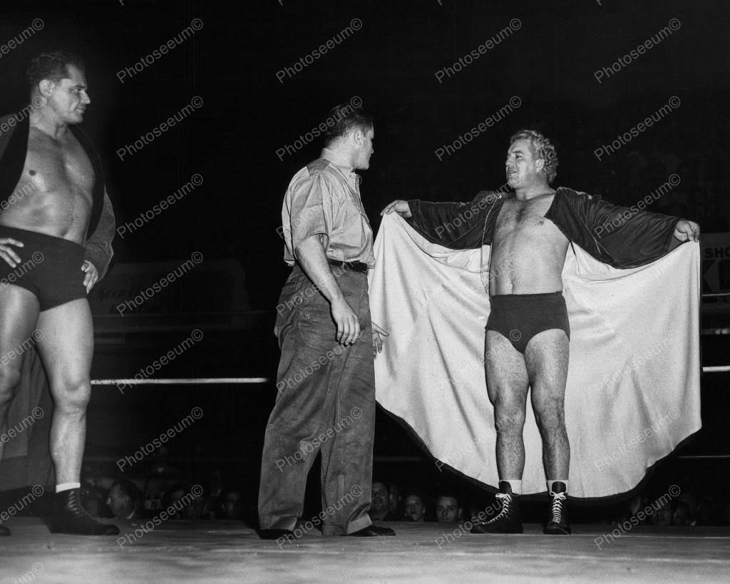Gorgeous George Wrestler 1948 8x10 Reprint Of Old Photo