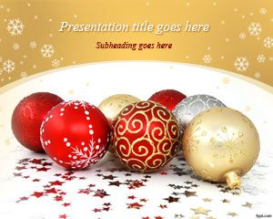 Download free christmas balls powerpoint template and background for download free christmas balls powerpoint template and background for microsoft powerpoint including awesome designs of christmas toneelgroepblik Image collections