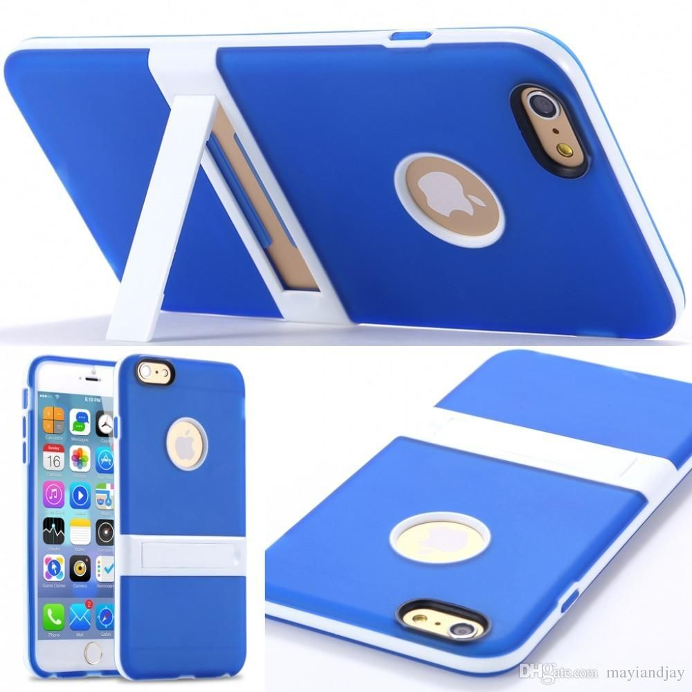 Best Cell Phone Case New Hot Ultra Thin Slim Cute Soft Tpu Kickstand Foothold Case For Apple Iphone 6/6plus Back Cover With Body Stand Holder Phones Cases From Mayiandjay, $1.96