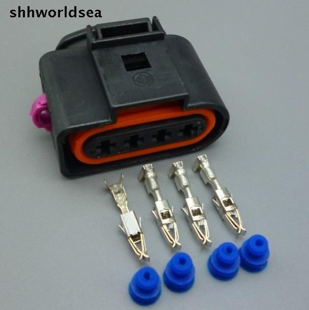 Shhworldsea 10Sets 4 Way 4B0973724 Auto Car Ignition Coil
