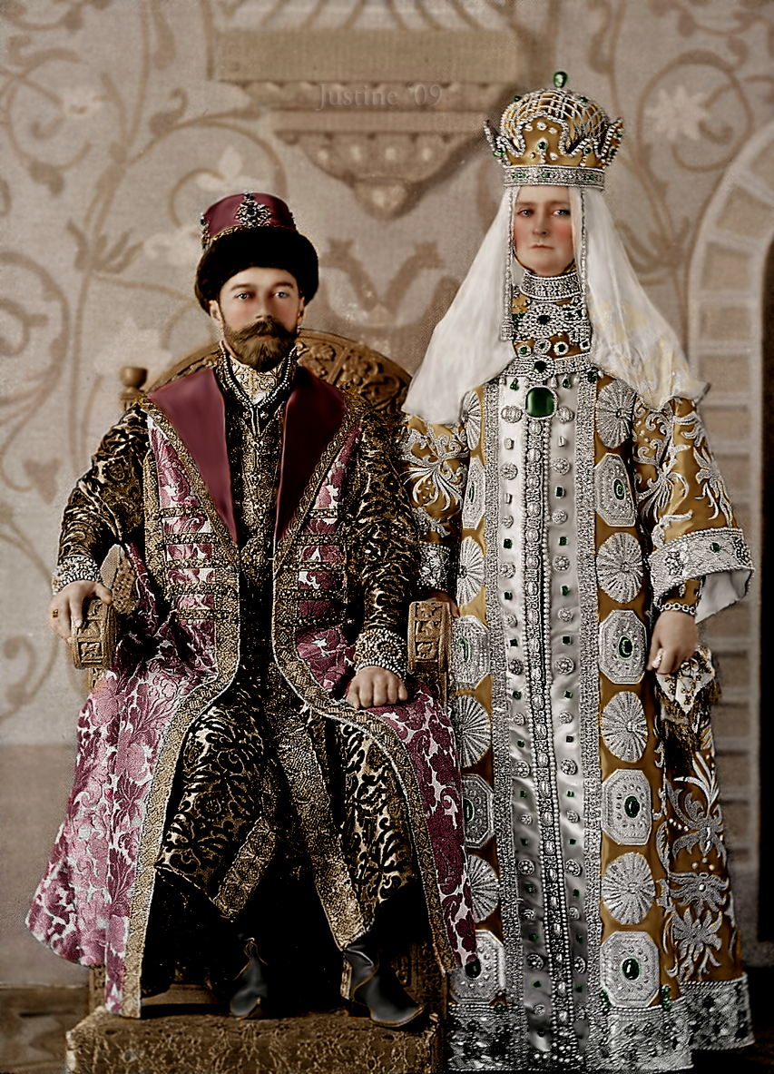 Find This Pin And More On Yes Please Nicholas Ii With His Wife Alexandra