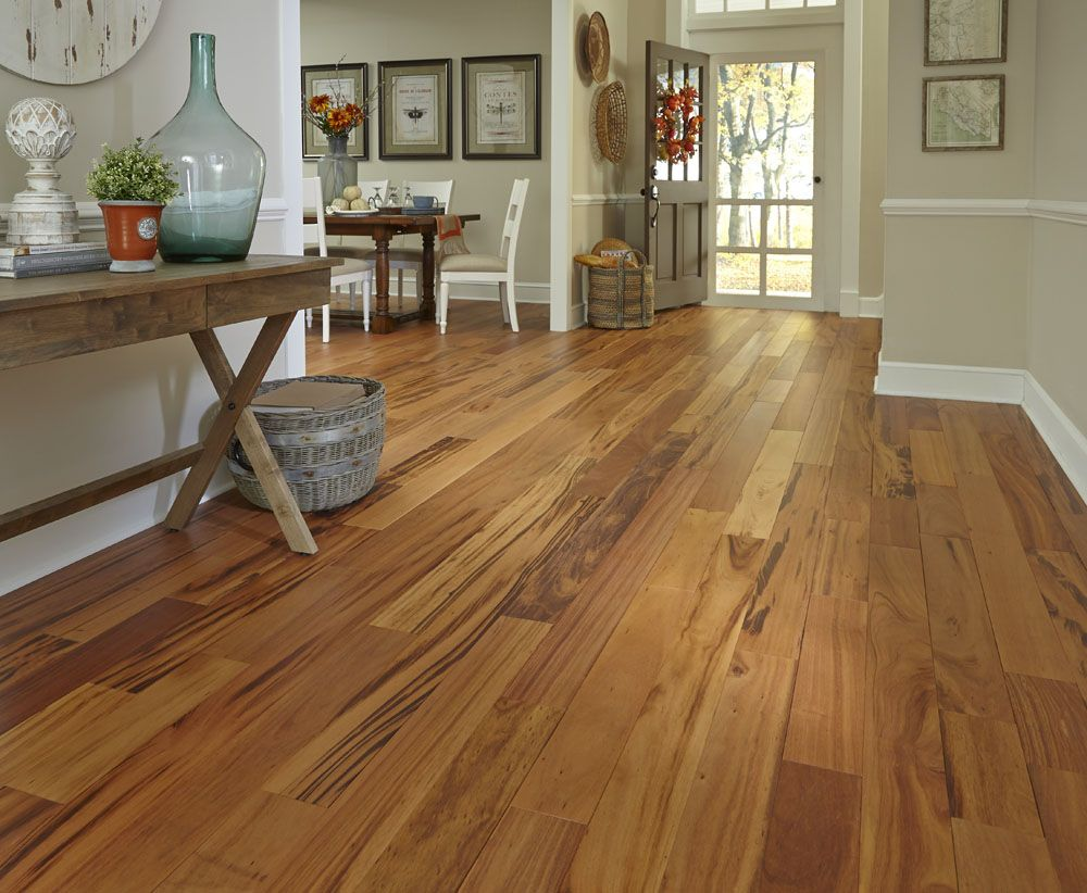 Matte Finish Brazilian Koa Flooring Engineered Hardwood Flooring Flooring Trends