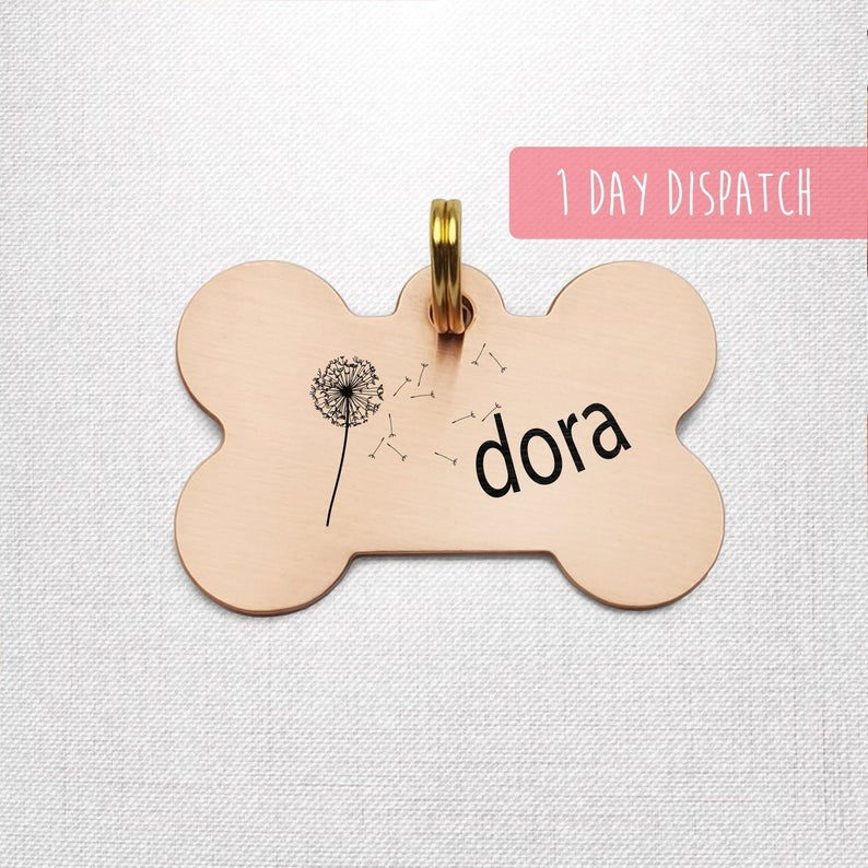 Engraved Dog Tag For Dog Personalise Pet Id Tag For Dog Etsy Engraved Dog Tags Custom Dog Tags Personalized Pet