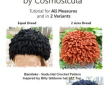 5d00d77c75c Tutorial PDF Crochet Pattern for my Hat
