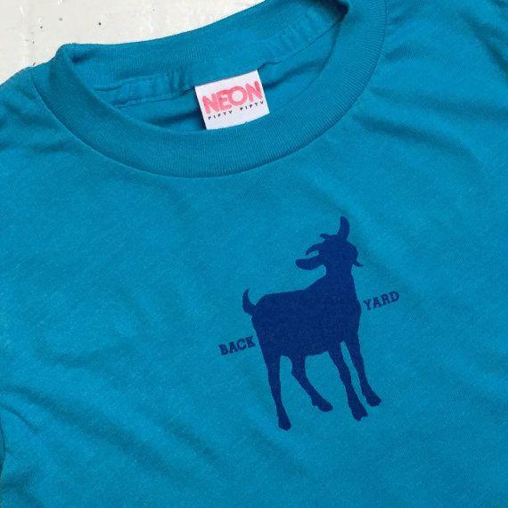 Backyard Goats T-shirt For Toddlers & Little Kids-American