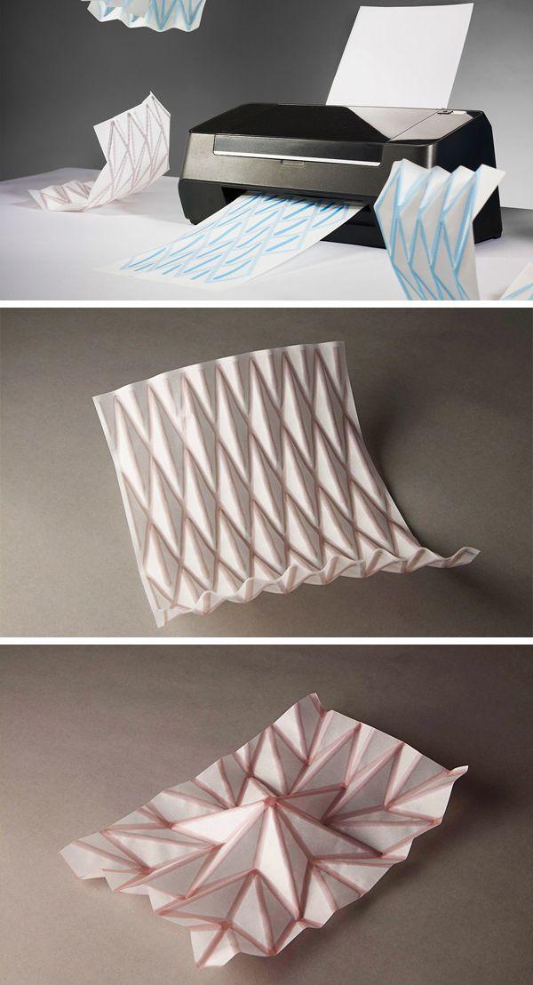 Printing #origami