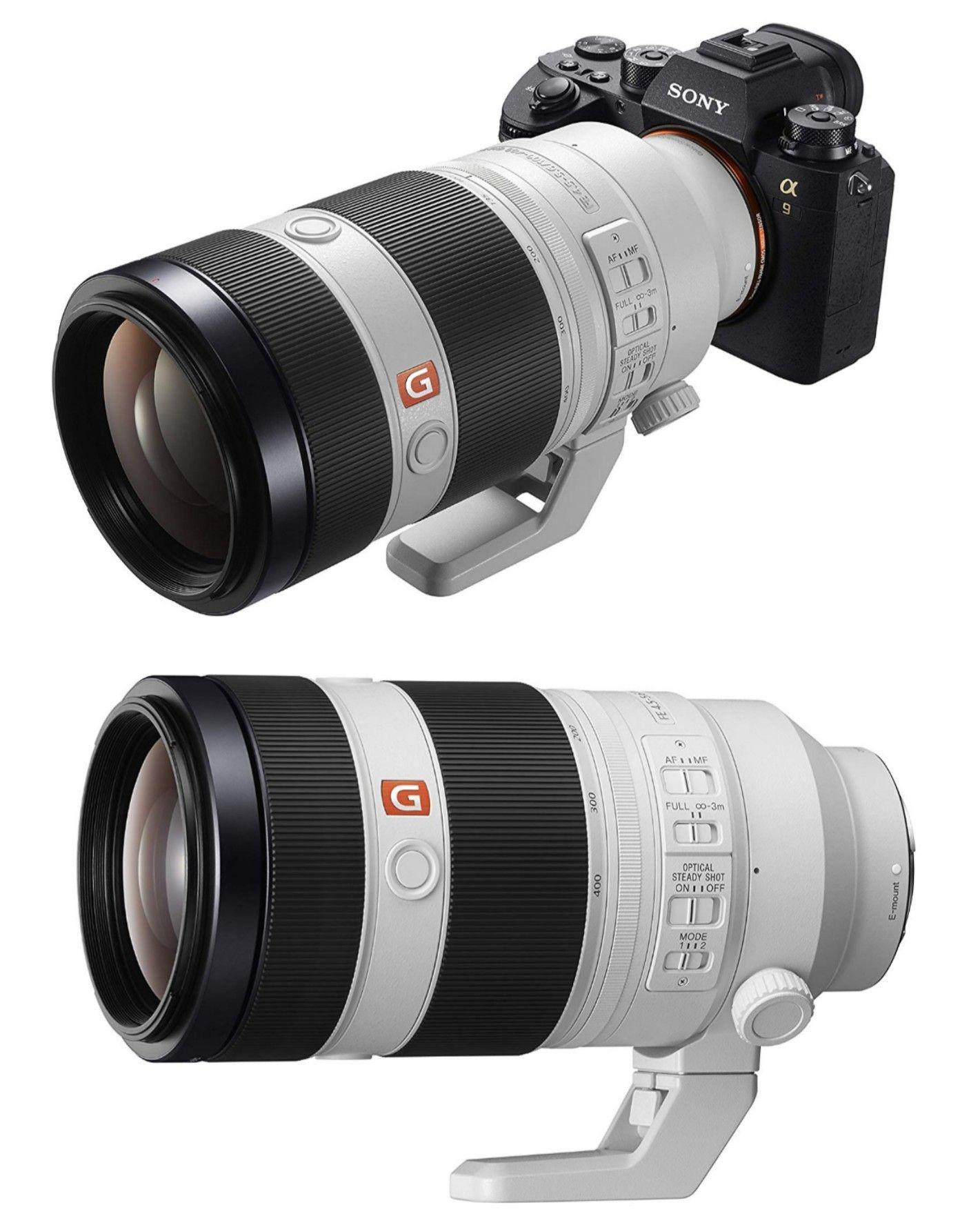 Sony Fe 100 400mm F4 5 5 6 Gm Oss Oss Image Stabilization Sony