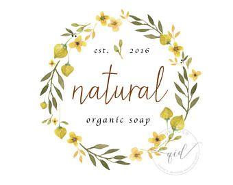 soap logo | etsy | logo design: organic soap | pinterest | logos