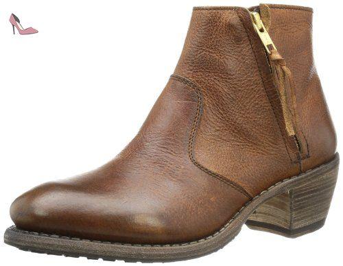 Blackstone Mw63, Femmes Bottes, Brun-brun (vieux Jaune), 40 Eu
