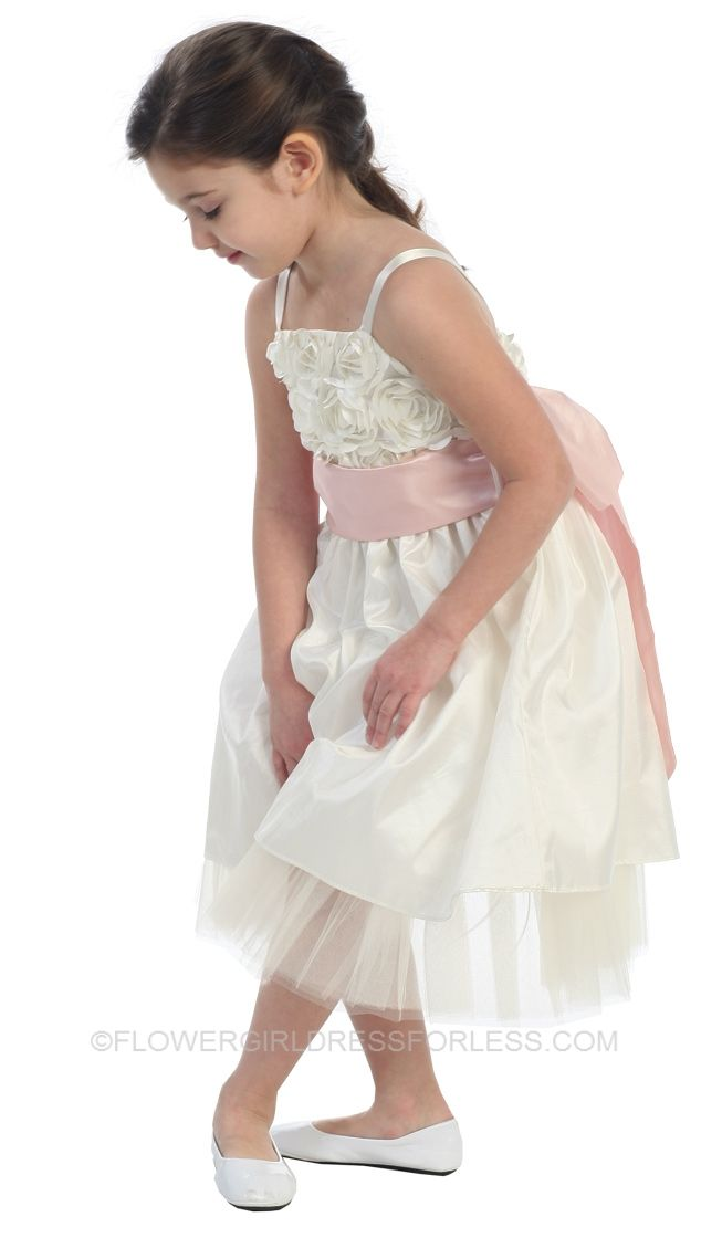 Flower Girl/ First Holy Communion Dress Style 343- BUILD YOUR OWN DRESS $49.99
